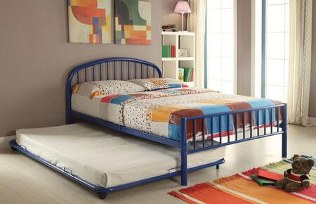 Cailyn Collection 30465FBUT 2 PC Bedroom Set with Full Size Bed + Trundle in Blue