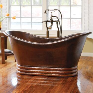 CPS912 60 Aurora Copper Bath Tub in