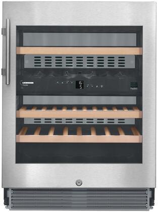 Liebherr 24 Stainless Steel Under Counter Wine Refrigerator