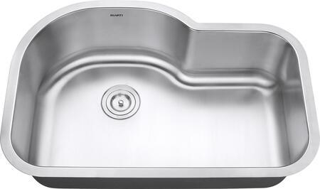 RVM4700 Undermount 16 Gauge 32 inch  Kitchen Sink Single