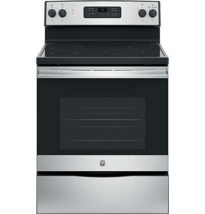 GE JBS60RKSS 30 Freestanding Electric Range with 4 Radiant Elements 5.3 cu. ft. Oven Capacity