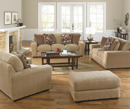 Prescott Collection 44874PCSTLARMBNKIT1OA 4-Piece Living Room Sets with Stationary Sofa  Loveseat  Living Room Chair and Ottoman in