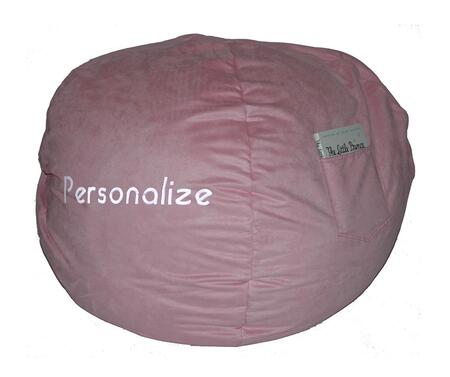 30230P Small Beanbag Pink Micro Suede -