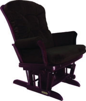 37427kd.47.0154 Shermag Sleigh Style Reclining Glider  with Locking