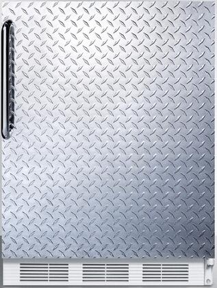 FF6DPLADA 24 inch  FF6ADA Series ADA compliant Freestanding Compact Refrigerator with 5.5 cu. ft. Capacity  Interior Lighting  Door Storage and Automatic Defrost: