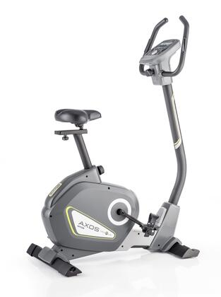 AXOS Cycle P-LA 7629-500 Upright Exercise Bike with 12 Training Programs with Adjustable Intensity Levels  Telemetric Hand Grips  16 resistance Levels