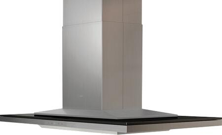 Zephyr ALL-E42BBX 42W in. Layers Island Range Hood with Black Glass