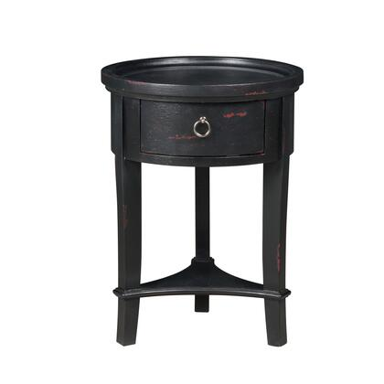 P020278 Marnie Black Round Accent Table