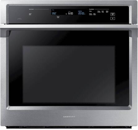 "NV51K6650SS 30"" Single Wall Oven offers 5.1 cu. ft. Capacity  Dual Fan True Convection  Backlit Touch Controls  Glide Rack and Wifi  in Stainless"