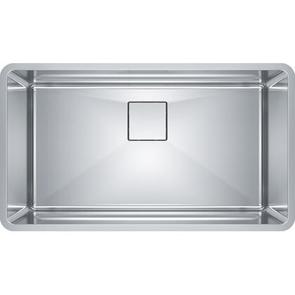 PTX110-31 Pescara 32 1/2 inch  Single Bowl Undermount Stainless Steel Kitchen