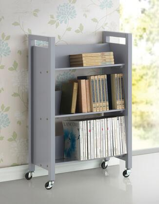 92138 Berton 42 inch  High Bookshelf Cart in