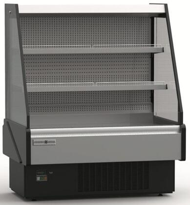 KGLOF40S Grab-N-Go Low Profile Case with 12.98 cu. ft. Capacity  5/8 HP  LED Lighting  in