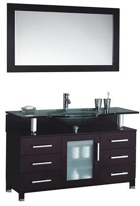 -8126E Beliza 48 Single Sink Bathroom Vanity Set