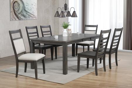 DLUEL92824C1002C907PC_7Piece_Dining_Room_Set_with_Dining_Table__4X_Ladder_Back_Dining_Chairs_2X_Fabric_Back_Dining_Chairs__in_Weathered