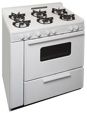 STK2X0OP 36 inch  Freestanding Gas Range with 6 Sealed Burners  in
