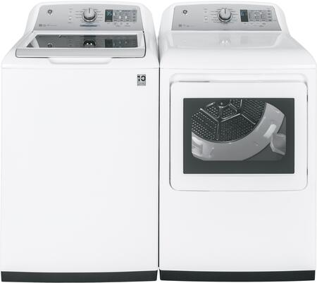 White Top Load Laundry Pair with GTW750CSLWS 27
