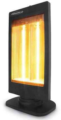 HE08R321 Soleus Air Heater with Instant Heat  Automatic Oscillation  2 Heat Setting  and 150 sq. ft. Coverage Area  in