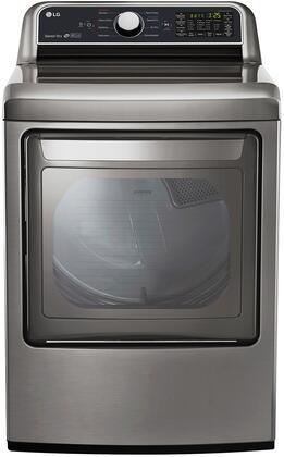 LG 7.3 Cu. Ft. 9-Cycle Gas Dryer Graphite steel DLG7201VE