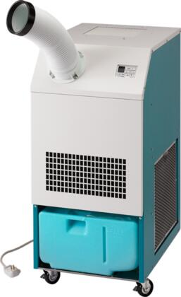 CLASSIC10 Portable Air Cooled Air Conditioner with 10 000 BTU Capacity  UL Listing  Economic Cooling  Digital Control  Electronic Thermostat  Centrifugal Fan