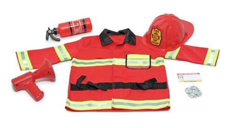 4834 Fire Chief Role Play Costume