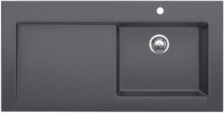 441476 Performa Silgranit Cascade Super Single Bowl Kitchen Sink In