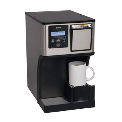 42300.0000 My Cafe AP AutoPOD Auto Eject Pod Brewer with BrewMETER Pulse-Brew Technology  Digital Display  Push and Hold Water Button and Integrated Cup