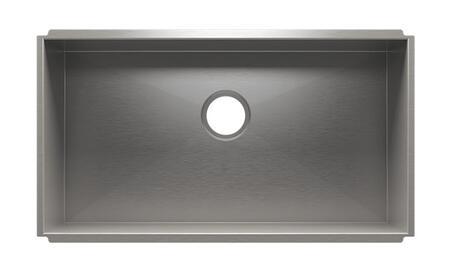 "Image of 003615 Urbanedge 30"" x 16"" x 8"" Undermount Stainless Steel Kitchen"