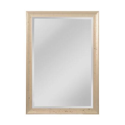 MW5200D-0048 Maddux Mirror in Aged Silver  Ebony