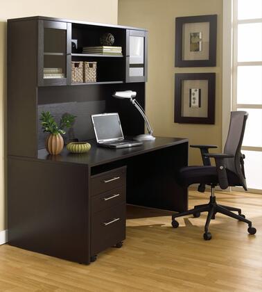 1C100007MES Espresso Executive Office Desk with