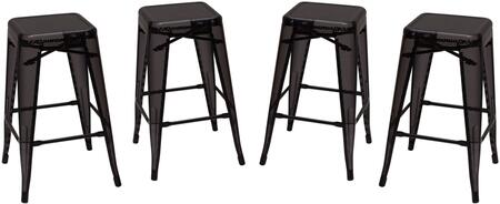 MESHSTBL4PK_Mesh_Serie_Backless_Metal_Stool_(Set_of_4)_with_Metal_Legs__Leg_Rest_and_Square_Shape_Seat__in