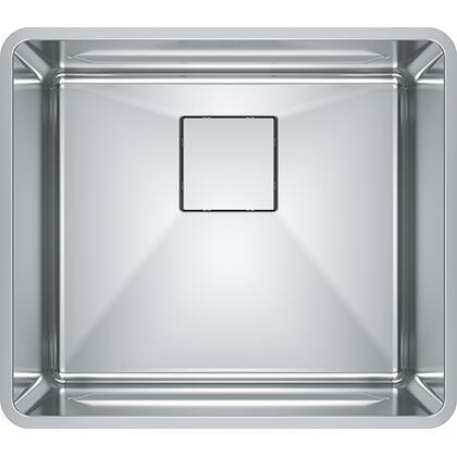 PTX110-20 Pescara 20 5/8 inch  Single Bowl Undermount Stainless Steel Kitchen