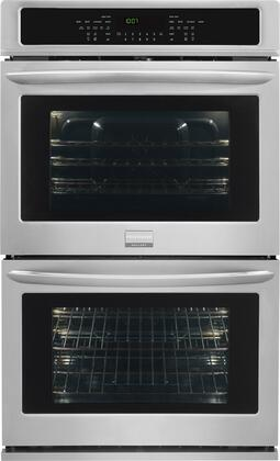 "Frigidaire Gallery 27"" Built-in Double Electric Convection Wall Oven Stainless Steel FGET2765PF"