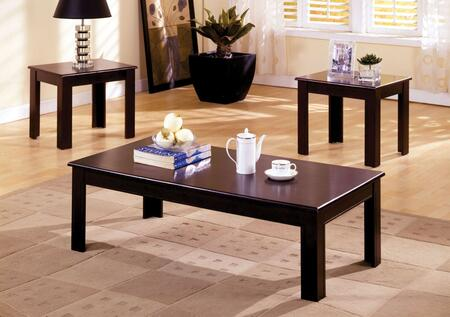 Town Square I Collection CM4168-3PK 3-Piece Living Room Table Set with Coffee Table and 2 End Tables in