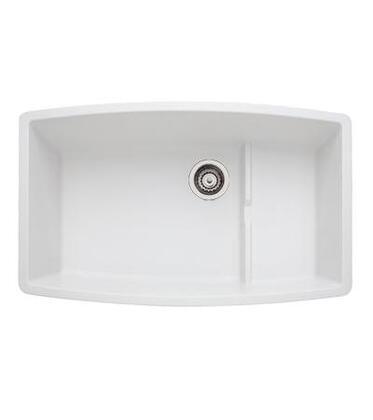 440066 Performa Silgranit Cascade Super Single Bowl Kitchen Sink In