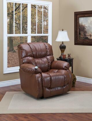 5955-BLP Sleeper/Reclining Lift Chair - Pecan Bonded
