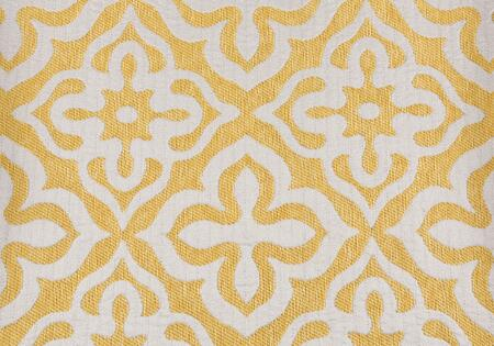 I 9218 Pillow - 18 inch X 18 inch  / Yellow Motif Design /