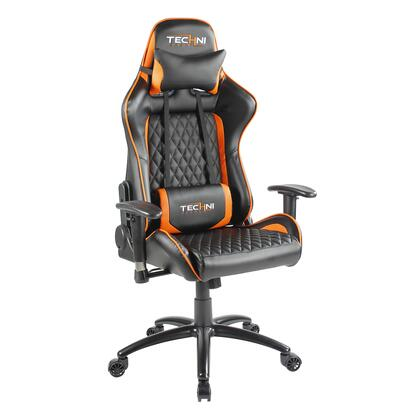 RTA-TS50-ORG TS-5000 Ergonomic High Back Racer Style Video Gaming Chair. Color