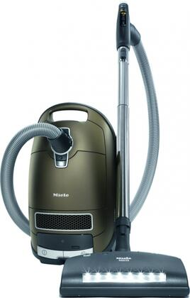 41GPE030USA Complete C3 Brilliant Canister Vacuum with Low-Noise 1200W Vortex Motor  6 Power Settings  +/- Controls  Lightweight Construction  and 36 Foot