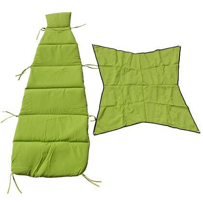 8402GR 76 inch  Cloud-9 Pad/Pillow/Canopy Set in Kiwi