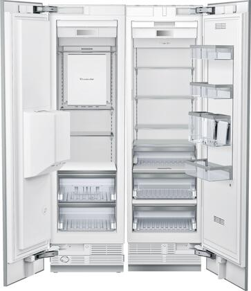 42 inch  Side-by-Side Refrigerator with T23IR900SP 24 inch  13 cu. ft. Capacity Refrigerator Column and T18ID900LP 18 inch  7.8 cu. ft. Capacity Freezer