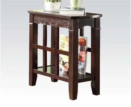 80155 Naldo Side Table in Walnut