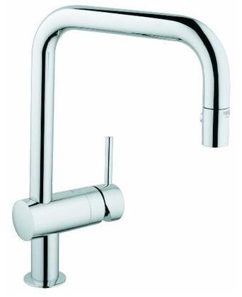 Grohe 32319000 Minta Single-Handle Kitchen Faucet, Starlight