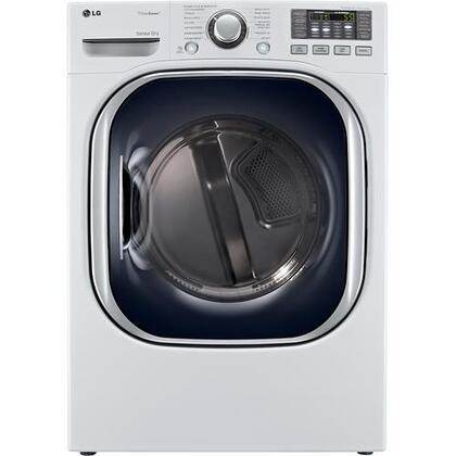 SteamDryer DLEX4070W 7.4 cu. ft. Ultra Large Capacity Electric Dryer With SteamFresh Cycle  SteamSanitary Cycle  TrueSteam Technology  and Dual LED Display in