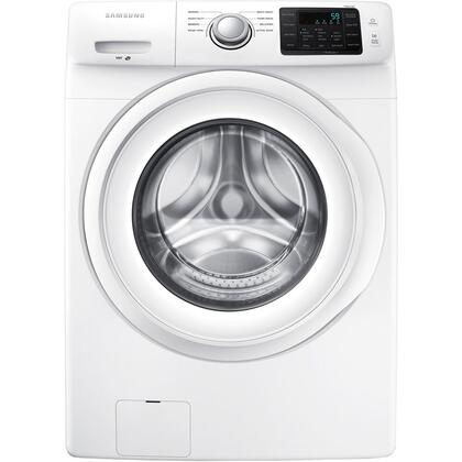 "WF42H5000AW 27"" Wide 4.2 cu. ft. Energy Star Qualified Front-Load Washer with VRT Technology  8 Wash Cycles  9 Options  4 Temperatures  1 200 RPM Spin Speed"