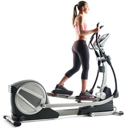 PFEL18014 Smart Strider 735 iFit Compatible Elliptical with Adjustable Incline  22 Workout Apps  EKG Grip Pulse Heart Rate Monitor  CoolAire Workout Fan  iPod