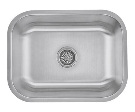 CMU2318-9-16 Craftsmen Series Stainless Steel Single Bowl Undermount Sinks  Gauge