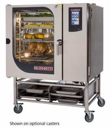 BLCT102G Single Gas Boilerless Combination-Oven Steamer with Touchscreen Control  Multiple modes  Self cleaning system. Capacity: 8 sheet pans or 16 North