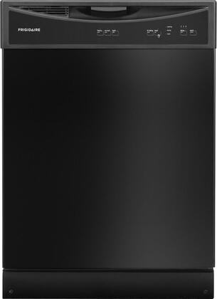 """Frigidaire 24"""" Tall Tub Built-In Dishwasher Black FFBD2406NB"""