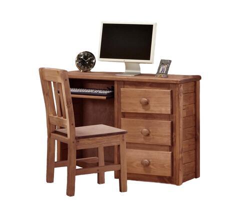 31502 Computer Desk Mahogany