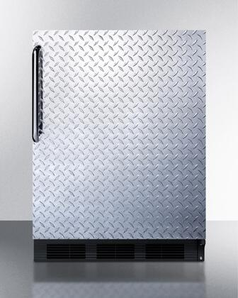BI541BDPL 24 inch  Undercounter Refrigerator with 5.1 cu. ft. Capacity  2 Glass Shelves  Cycle Defrost  Adjustable Thermostat  and Interior Lighting: Diamond